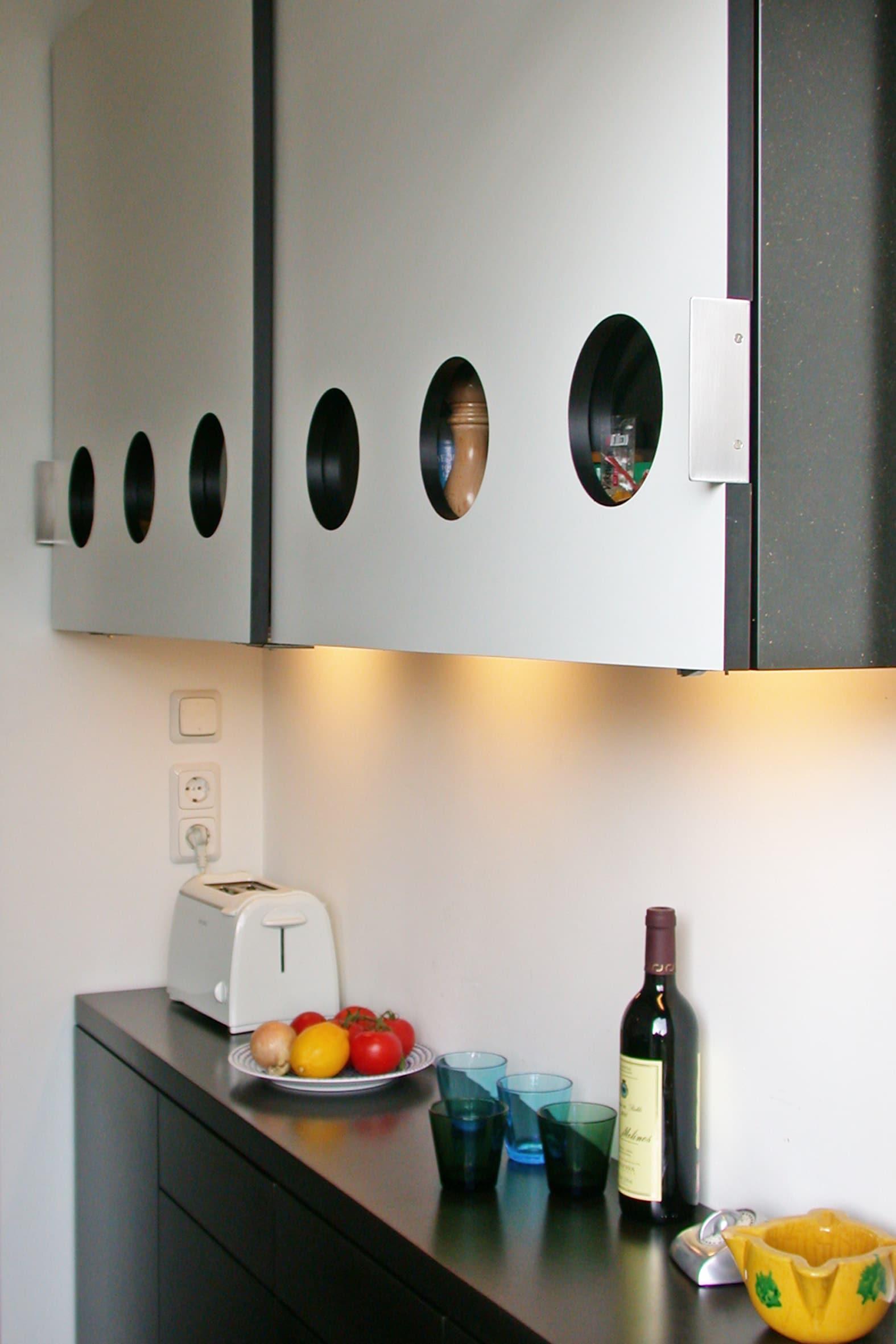 keuken rvs Rotterdam Bergblick interieurarchitectuur