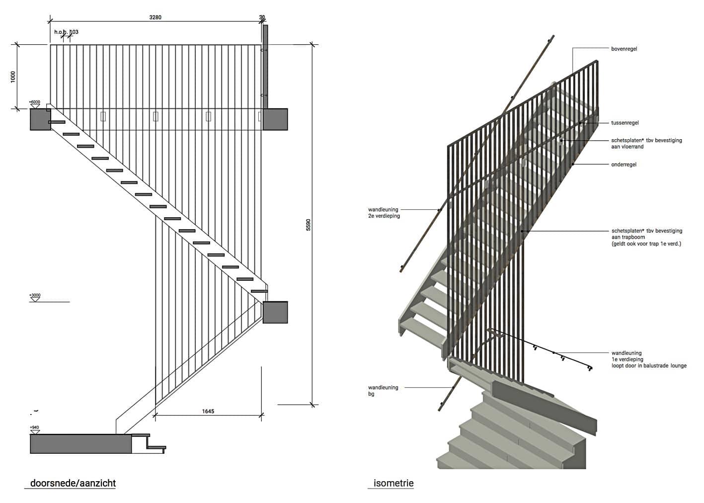 Split level interieur